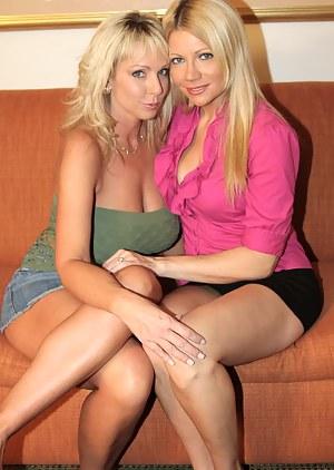 Lesbian MILF Porn Pictures
